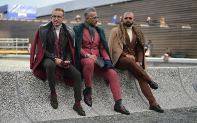 Pitti fashion fair in picture | FII